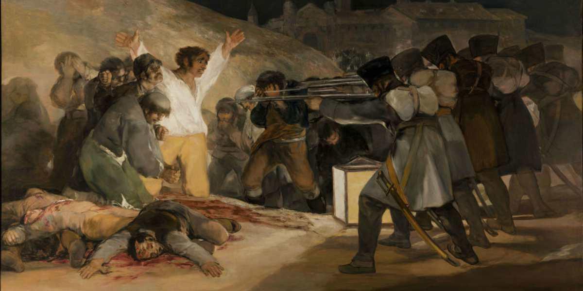 Francisco de Goya, El Tres de Mayo.